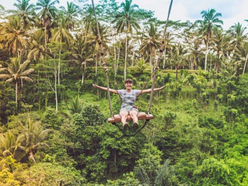 Bali White Water Rafting and Jungle Swing Tour