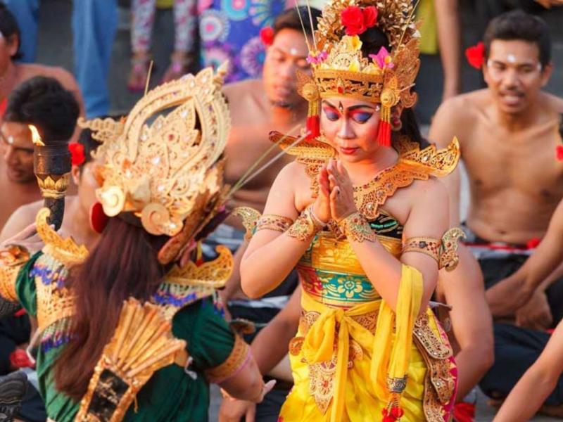 Bali Culture and Kecak Fire Dance