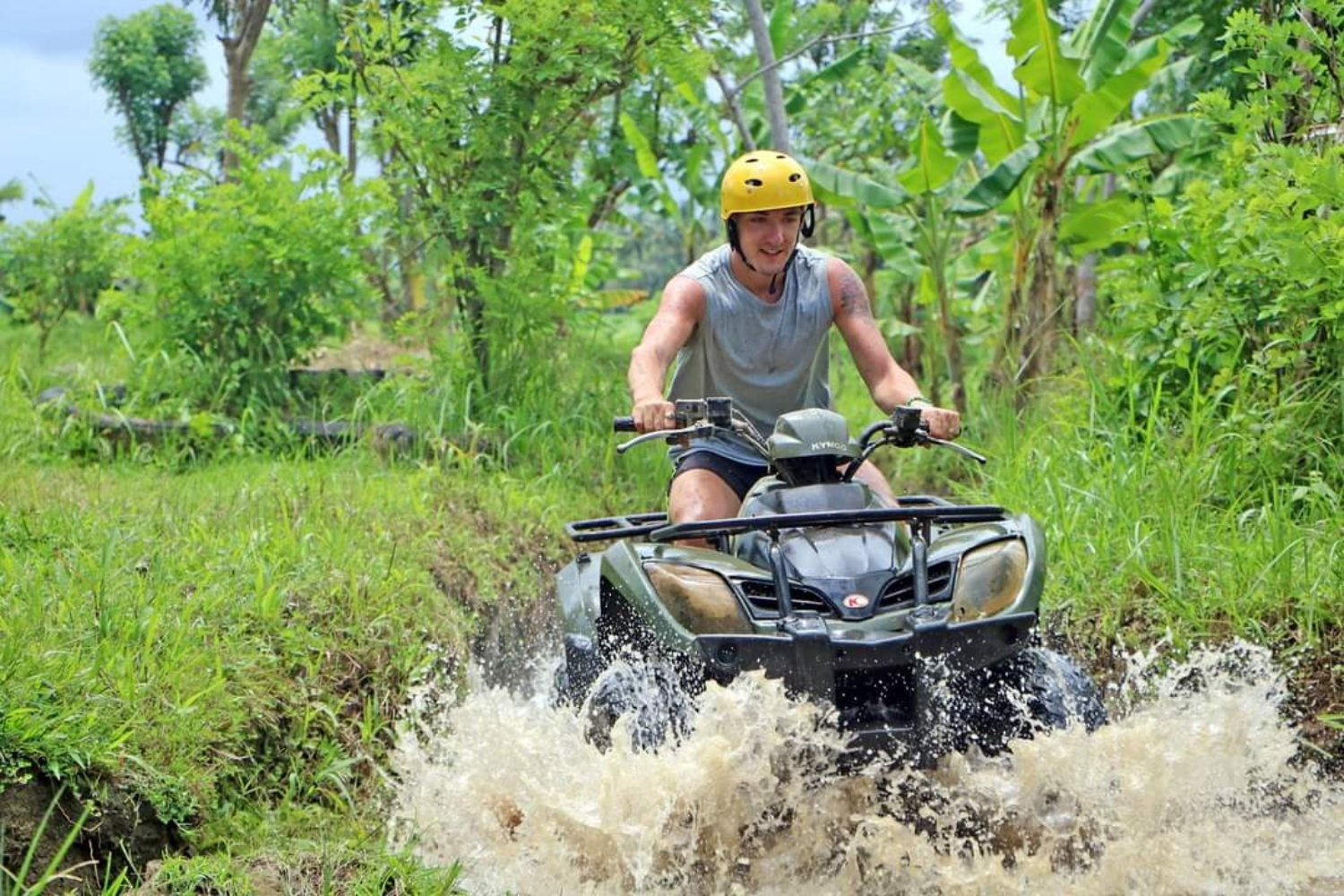 Bali ATV Quad Bike and Ubud Monkey Forest Tour